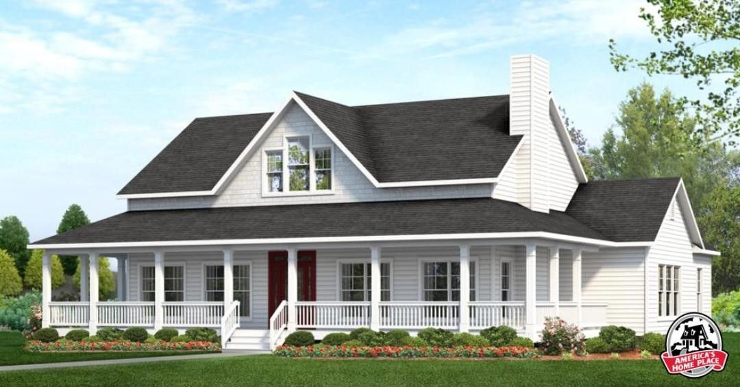 "America s Home Place on Instagram ""Floor Plan Friday [The Southfork Modern Farmhouse 3 Bed 2 Bath 2 337 Heated SF] americashomeplace ahphome ahpfloorplanfriday…"""