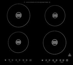 Induction Cooktop Made From Schott Ceran Glass Includes 7 Piece Cookware Set Induction Cooktop Cooktop Induction