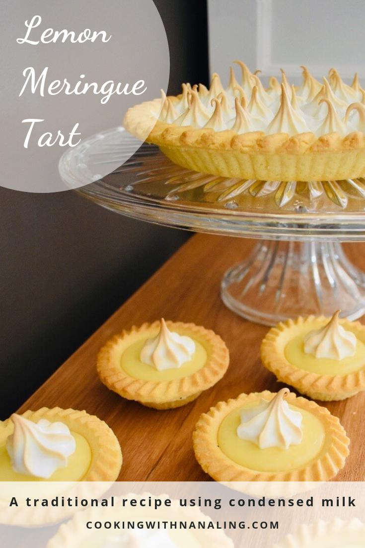 Lemon Meringue Tart Using Condensed Milk Cooking With Nana Ling Recipe Recipes Using Condensed Milk Lemon Meringue Tart Lemon Tart Recipe