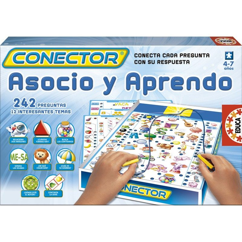 Juguete EDUCA CONECTOR ASOCIO Y APRENDO PRECIO 10,10€ en IguMagazine#juguetesbaratos