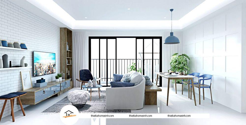Thiết kế nội thất chung cư Vinhomes Gardencia Hàm Nghi Thiết kế