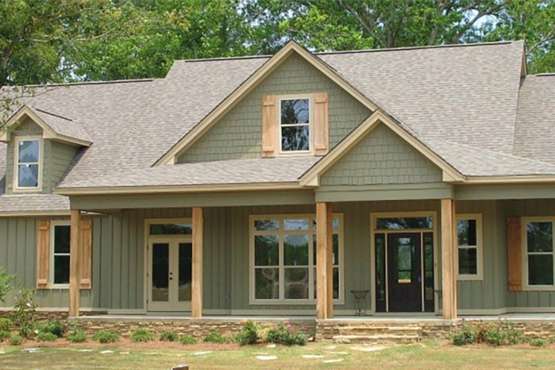 Country Style House Plan 4 Beds 3 Baths 2551 Sq Ft Plan 63 432 Country Style House Plans House Plans Cottage House Plans