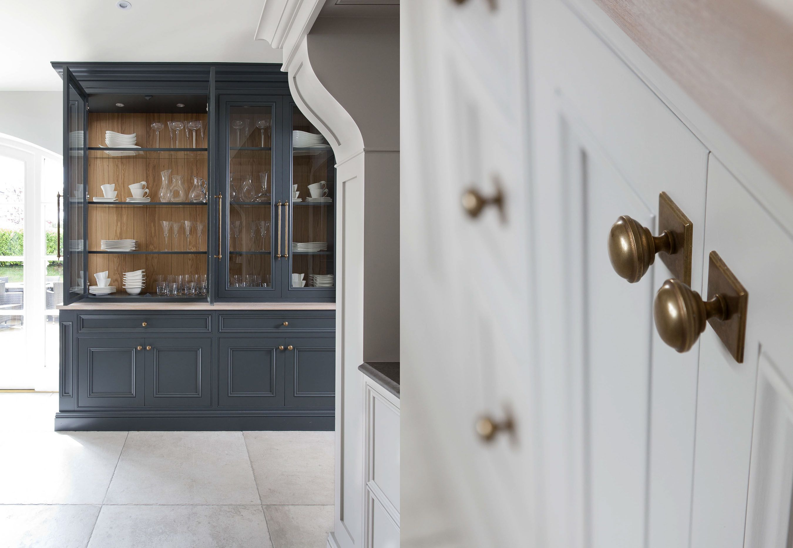 Inframe painted kitchen luxury kitchens beautiful