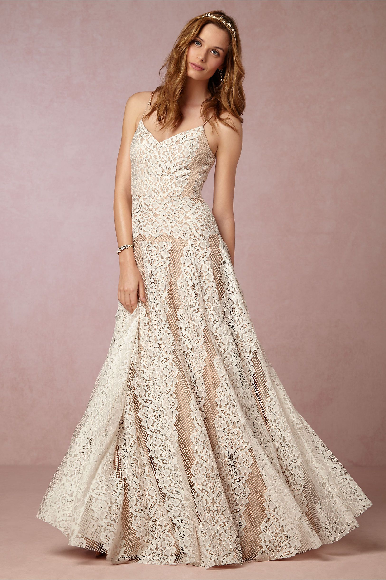 Larkin Gown L Bhldn By Tracy Reese Ivory Shell Www Carolinadesigns