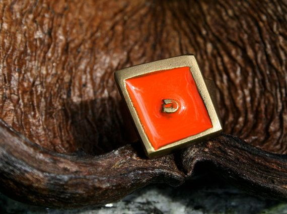 Ring aus Messing handgefertigt von Noor design cologne auf Etsy  www.noor-design.me