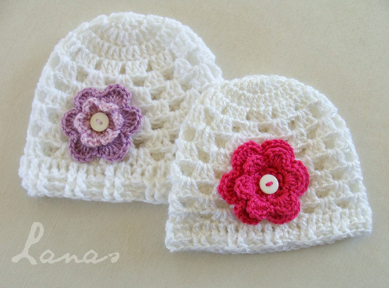 Lanas de Ana: GRANNY HAT | cat crochet applique | Pinterest | Lana ...
