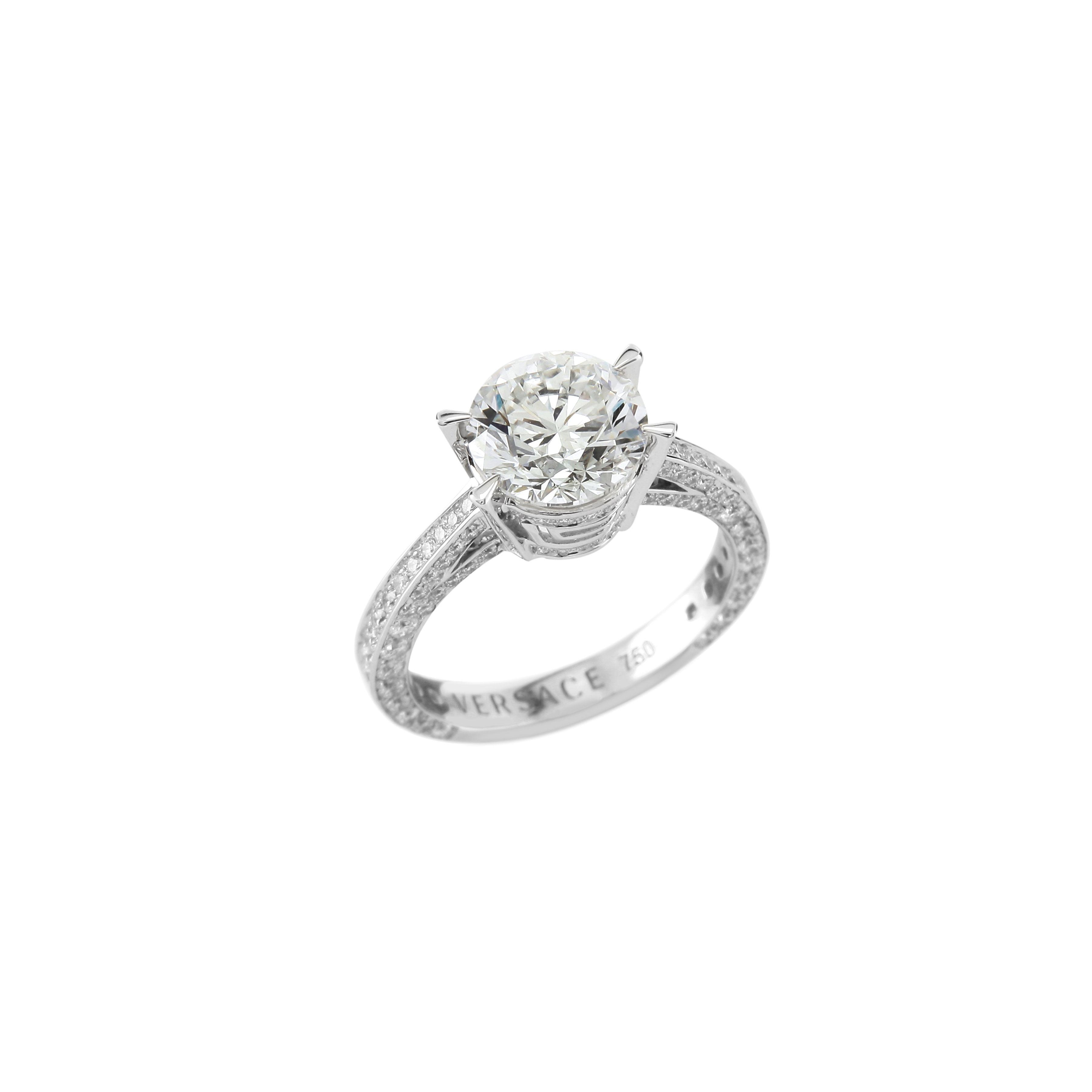 The Versace Fine Jewellery VERSACE FOREVER Ring VersaceJewellery