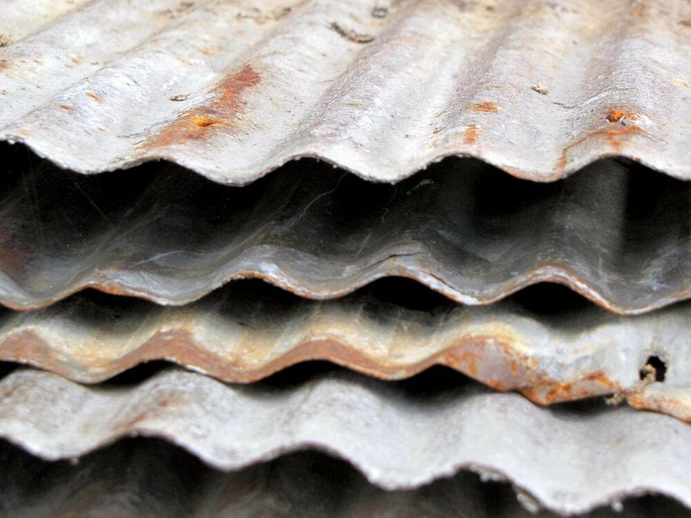 RECLAIMED METAL ROOFING CORRUGATED  {FULL SHEETS AVAILABLE} 1 SQ FT SAMPLE