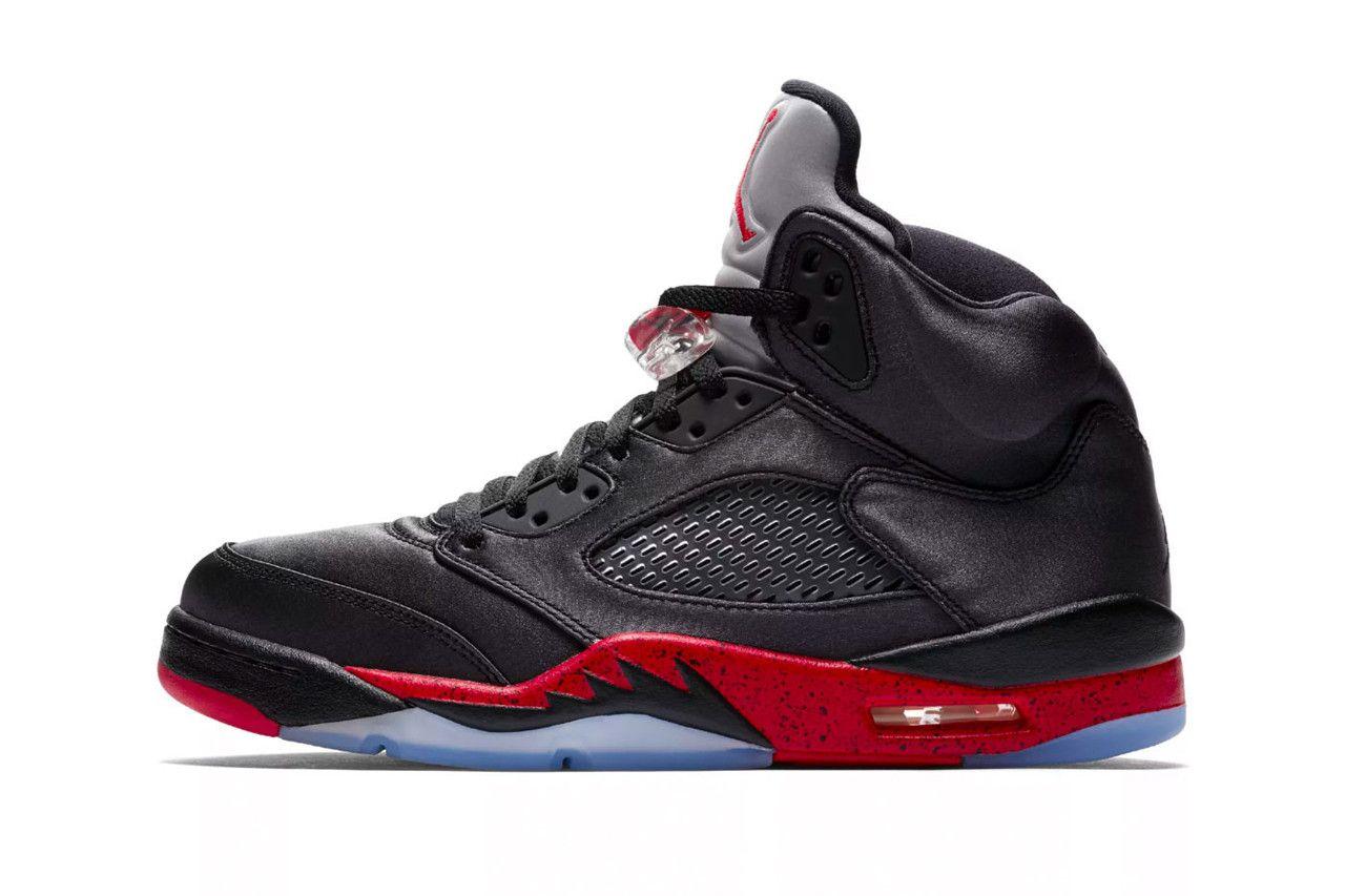 1 Retro High OG Paris Saint-Germain Bred air jordan 5 stockx sneakers  basketball footwear sports red black satin soccor 6472b6297