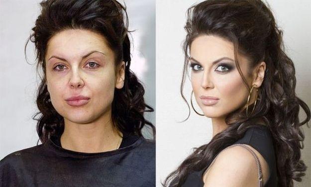Russian makeup artist Vadim Andreev works magic