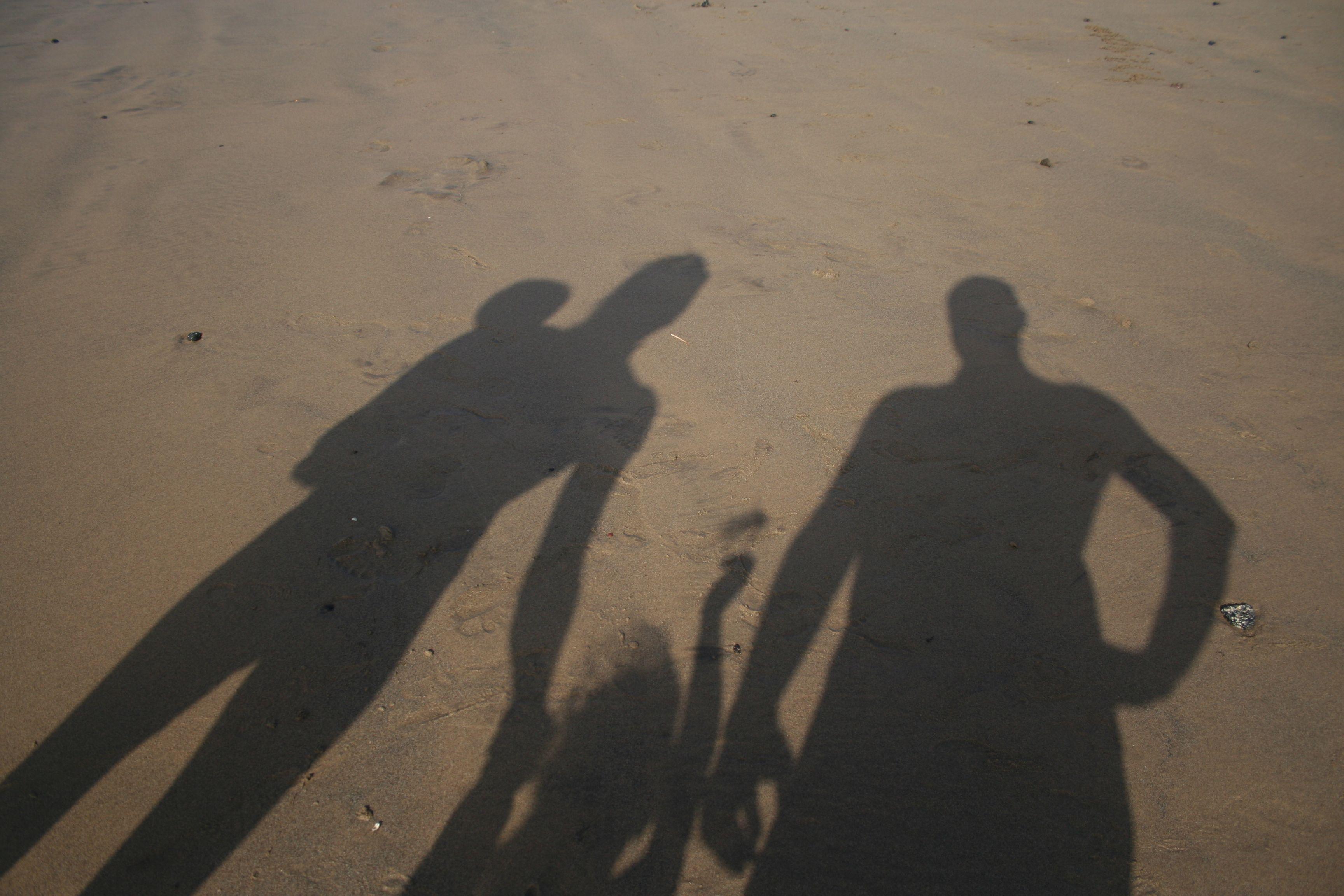 Sombras en la arena - Lanzarote 2012