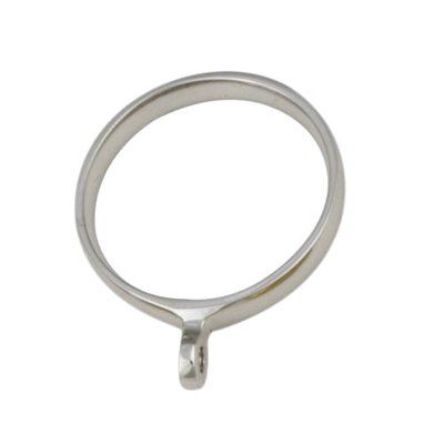 Gould New York MR1002-03 Metalware Ring Drapery Hardware This Ring Drapery Hardware from Gould New York Drapery Hardware comes in a satin brass finish.