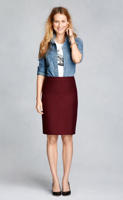 3af63b6750 Two-pocket denim shirt - Women s Shirts