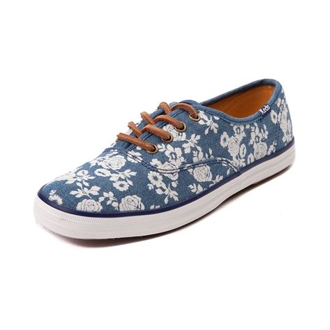 ef7e8d64cd2e Shop for Womens Taylor Swift Keds Champion Casual Shoe in Blue Floral Denim  at Shi by Journeys. Shop today for the hottest brands in womens shoes at ...