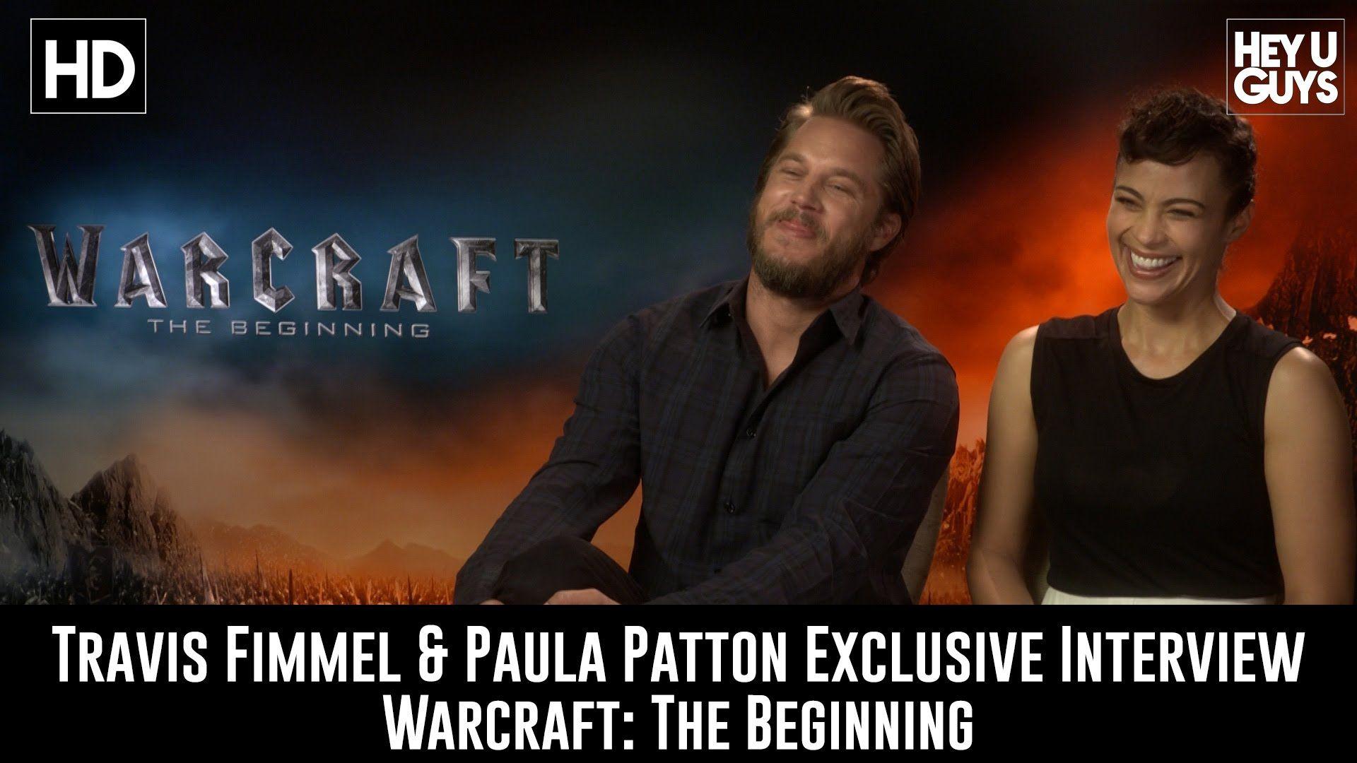Travis Fimmel Paula Patton Exclusive Interview Warcraft The