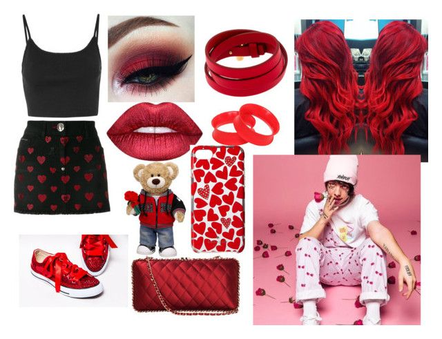 Valentine S Day With Lil Xan In 2018 My Polyvore Designs