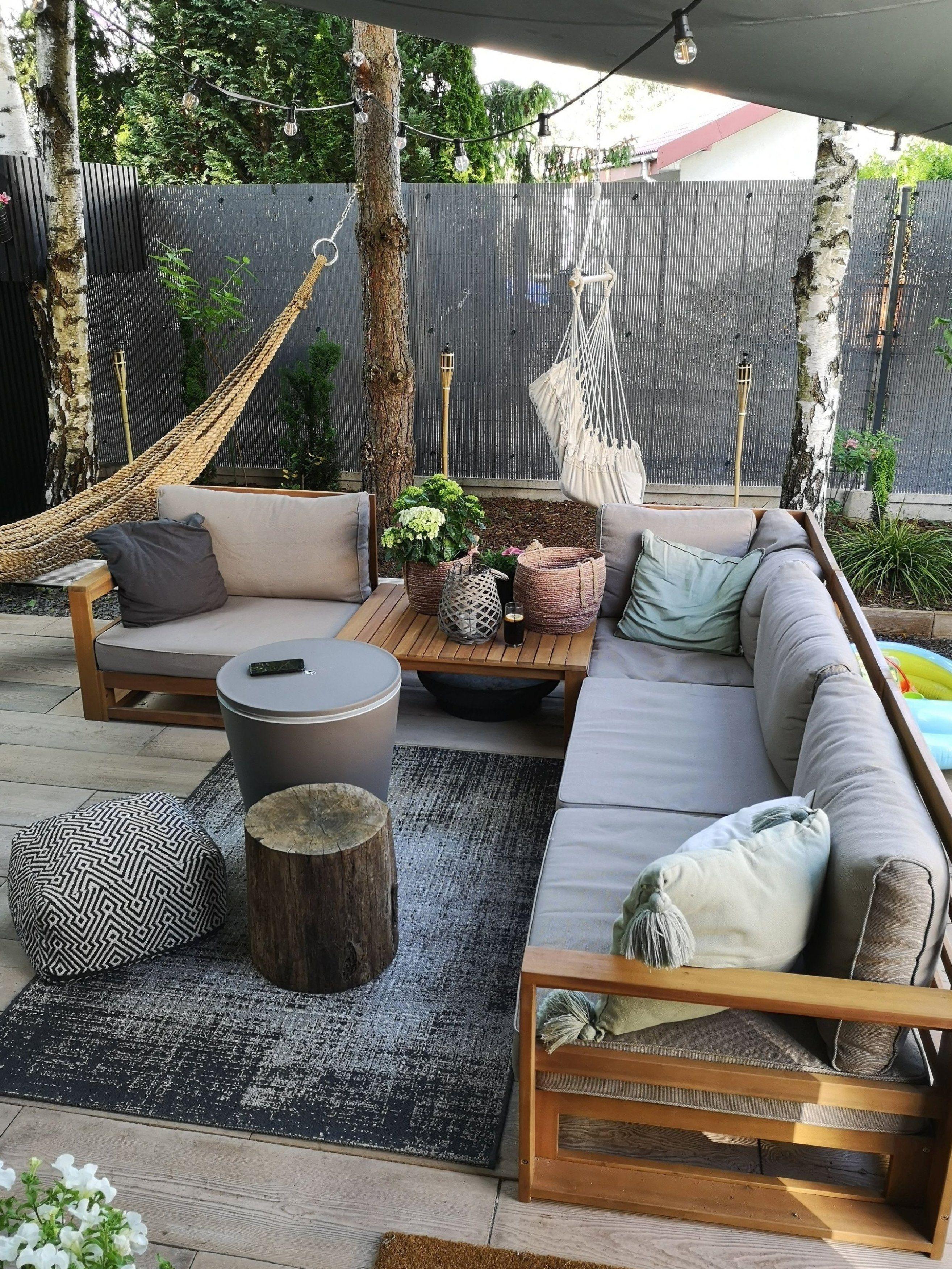 Geniessen Sie Elegantes Und Gem Tliches Ambiente In Ihrem Garten Oder Auf Ihrer Terrasse Mit Dieser T Garden Sofa Set Patio Lounge Furniture Outdoor Sofa Sets
