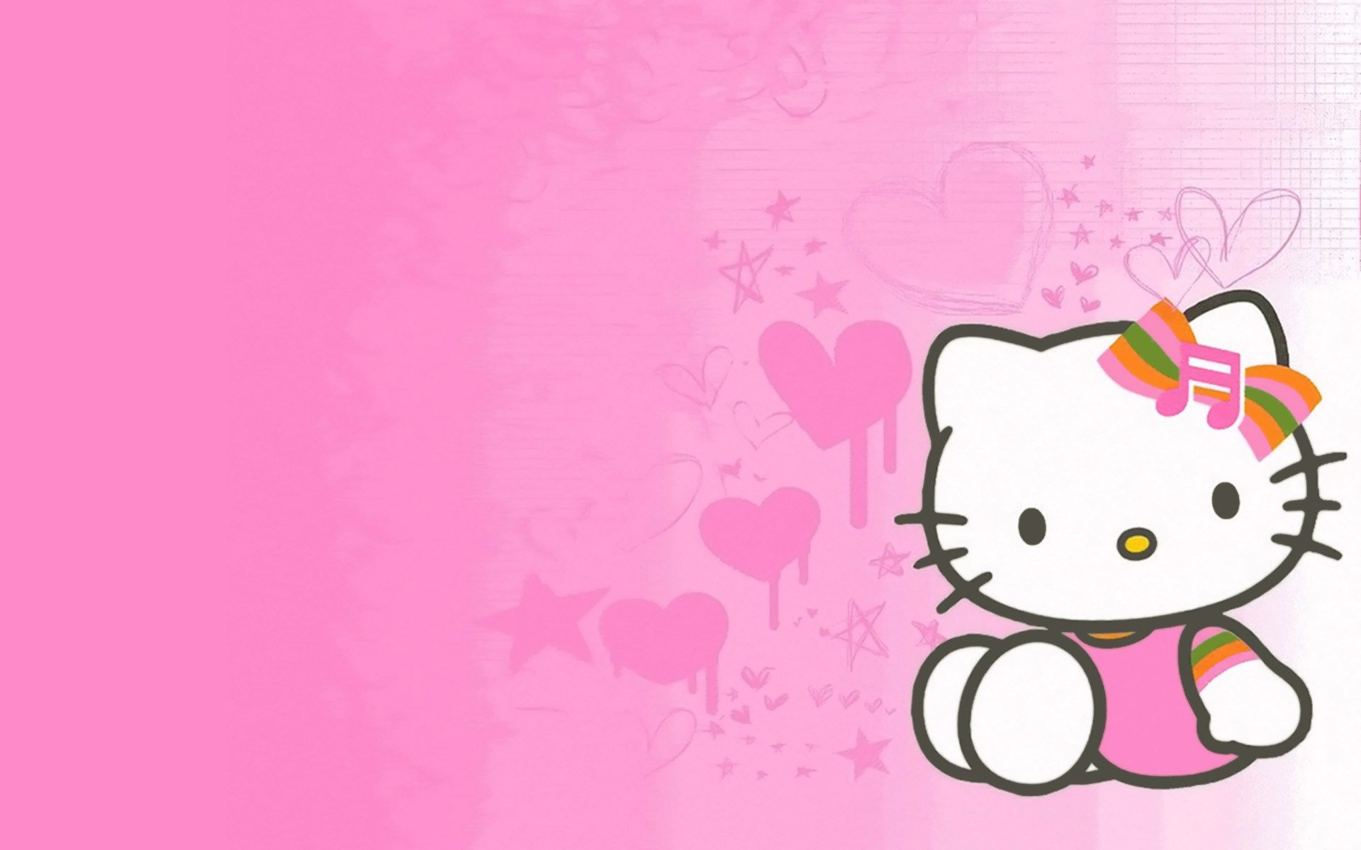 Cute Pink Wallpaper Hd Kitty Image Idei Dlya Vecherinki Idei Vecherinka