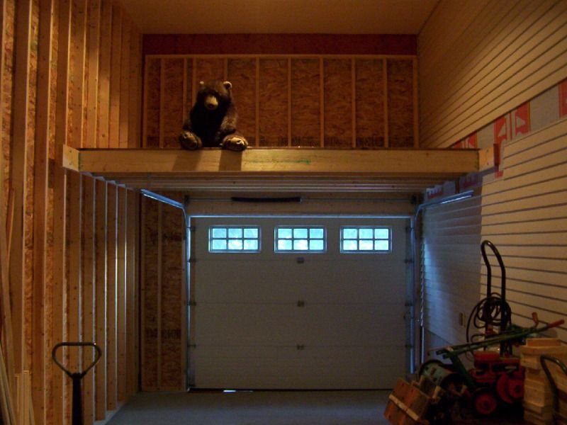 over door mezzanine garage organization pinterest mezzanine doors and garage organization. Black Bedroom Furniture Sets. Home Design Ideas
