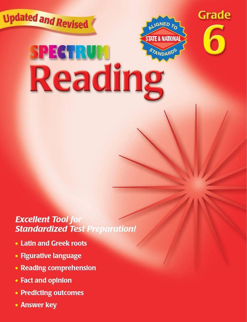 Sach Spectrum Reading Workbook Grade 6 Sach Gay Xoắn Sach Tiếng Anh Ha Nội Tiếng Anh [ 1088 x 837 Pixel ]