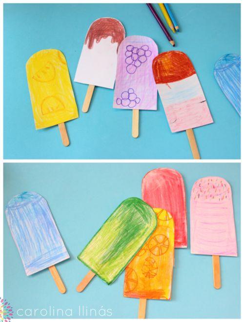 manualidades faciles para ninos kinderen Pinterest