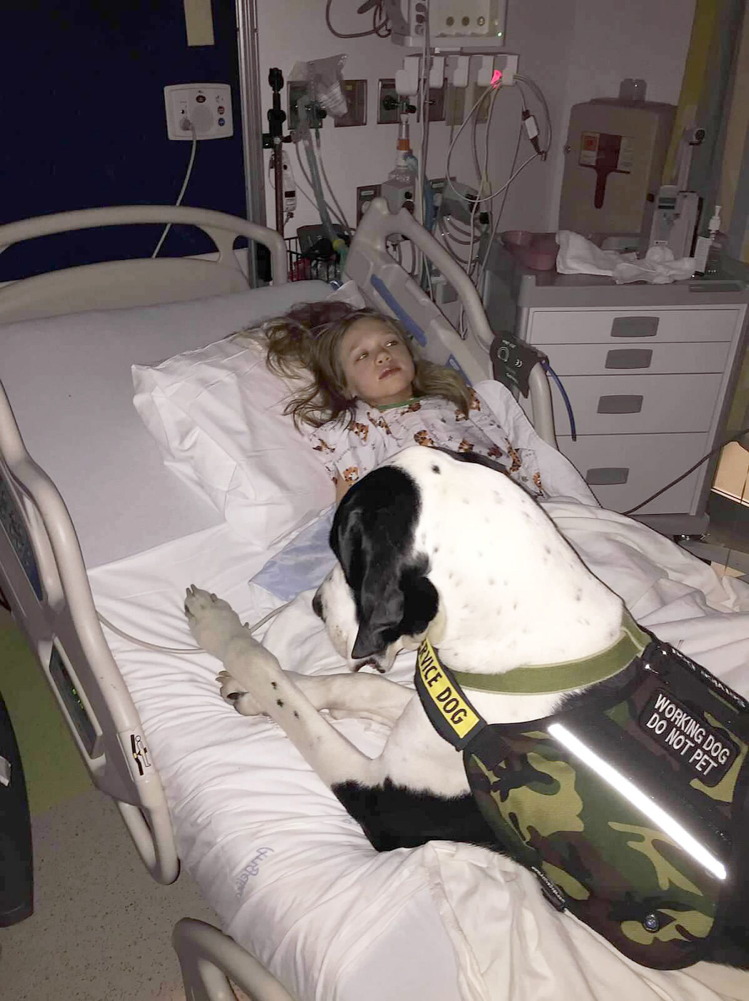 Little Girl With Rare Disease And Her Service Dog Have A Special