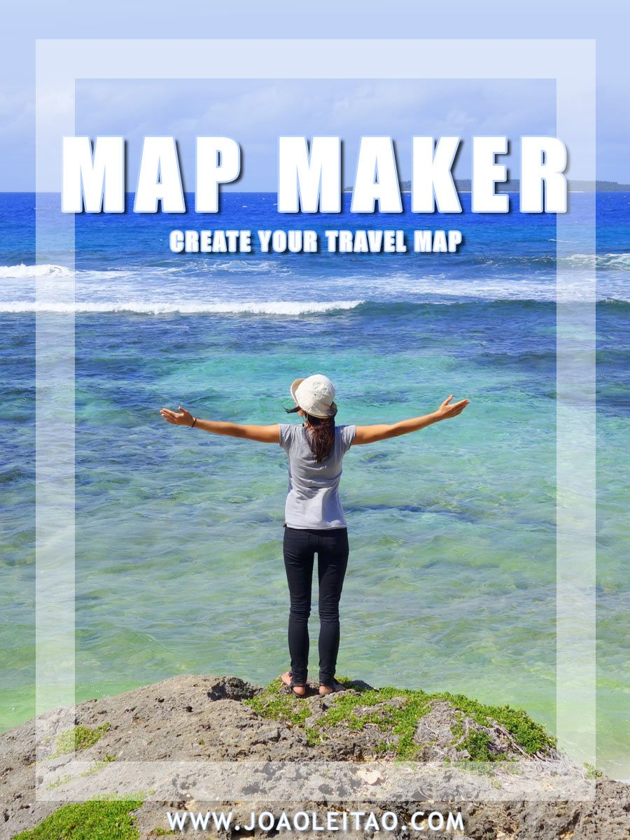 Visited Countries Map Maker Create Your Travel Map Travel Maps - Create map of countries visited