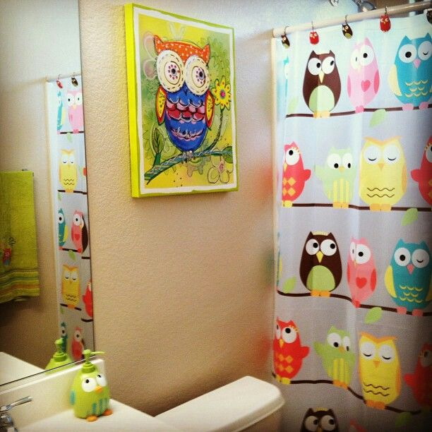 Bathroom Decor Owls: Lovin The Owls ! Decor By Renee