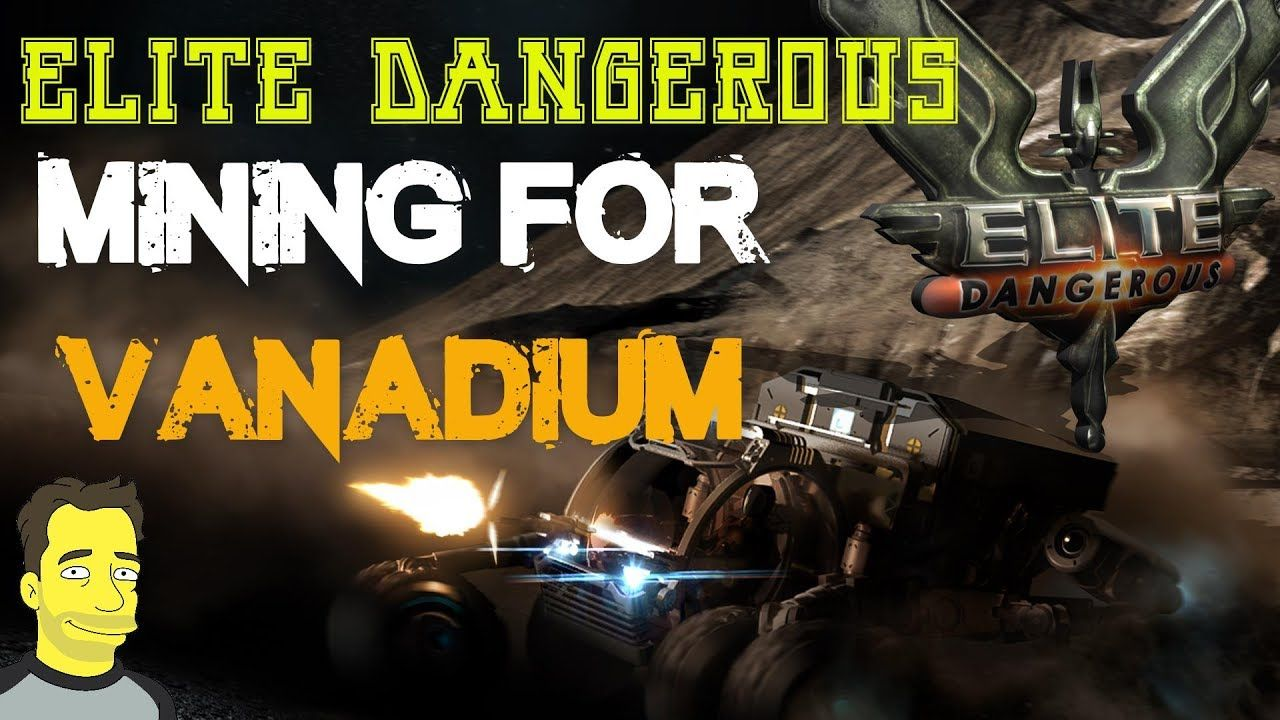 Elite Dangerous Horizons Planetary mining guide for Vanadium