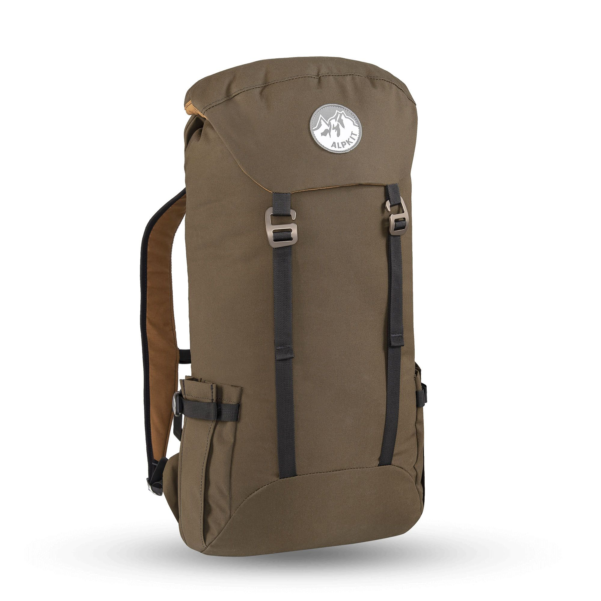 0626cd872 Brevent - 22 litre waxed cotton daypack for mountain walking and travel -  Alpkit