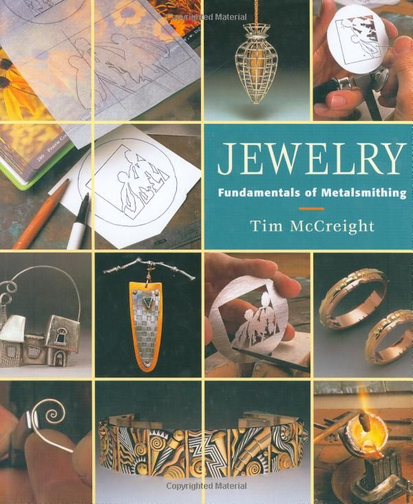 Jewelry: Fundamentals of Metalsmithing (Jewelry Crafts): Tim Mccreight: 9781880140291: Amazon.com: Books