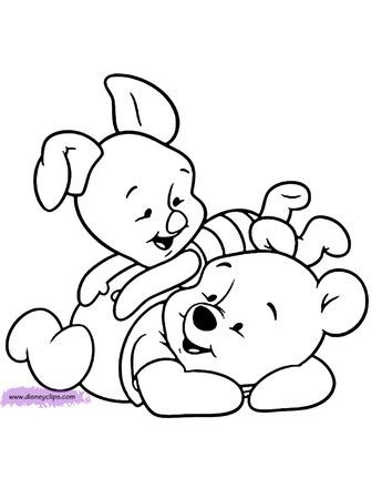Baby Pooh Printable Coloring Pages Disney Coloring Book Baby Coloring Pages Cartoon Coloring Pages Disney Coloring Pages