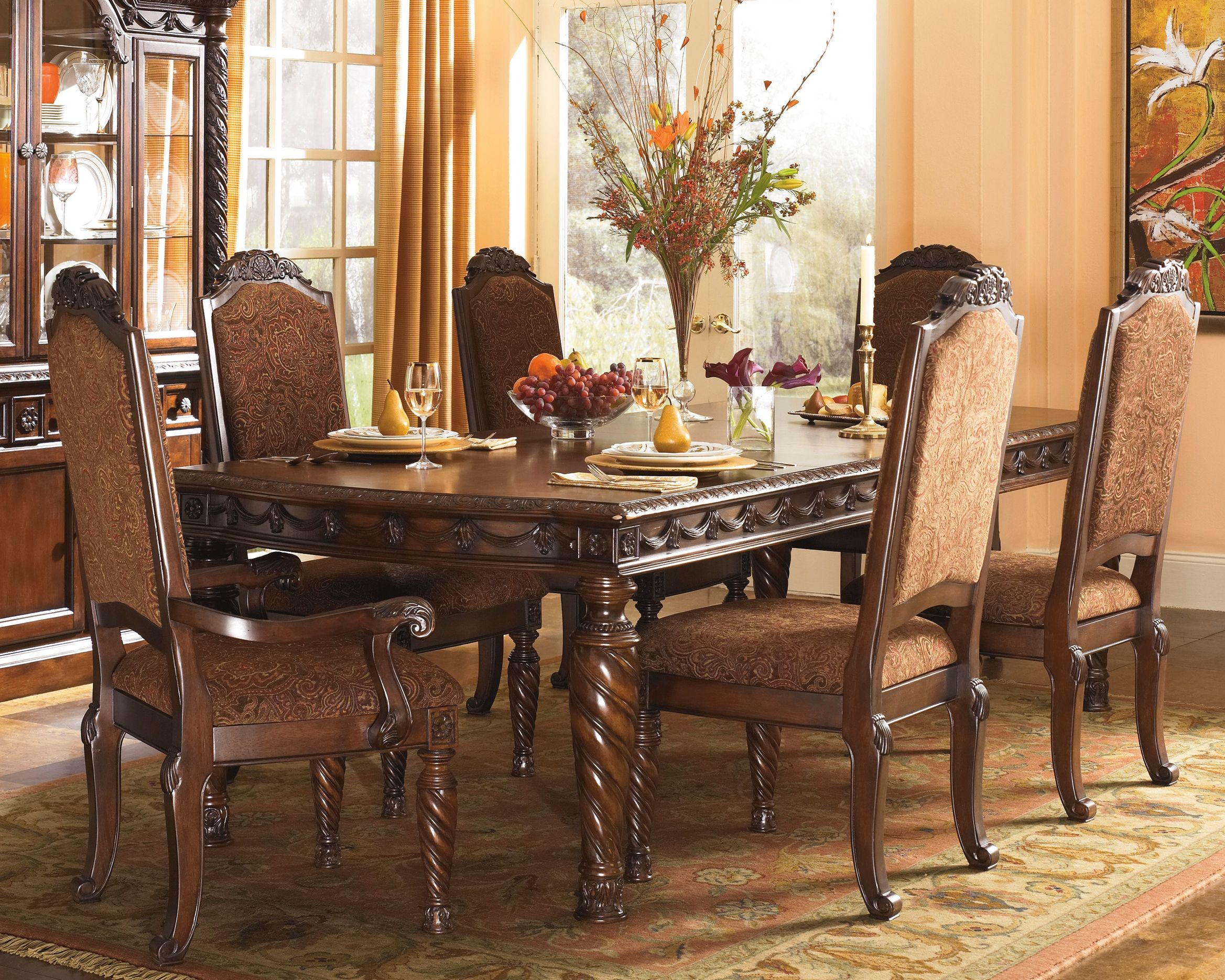 North Shore Dining Extension Table In 2020 Ashley Dining Room Ashley Furniture Dining Dining Room Sets