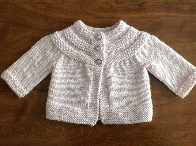 672c34e17 Ravelry  tatankagirl s Iced Violet February Baby Sweater