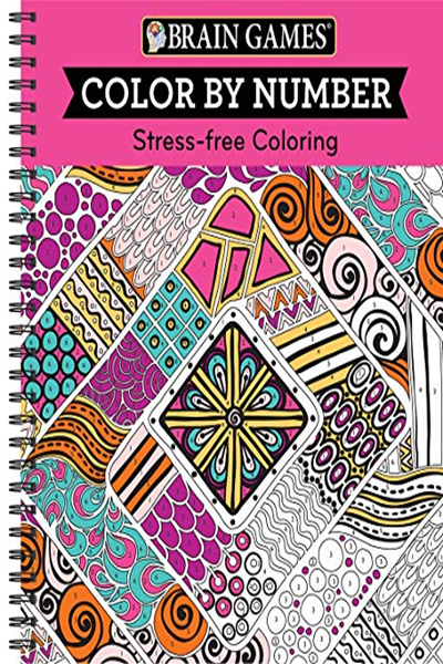 Brain Games Color By Number Stress Free Coloring Pink By Publications International Ltd Publications International Ltd Stress Free Coloring Brain Games Free Books Download