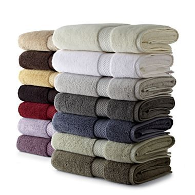 Royal Velvet Egyptian Cotton Solid Bath Towels Jcpenney Pure