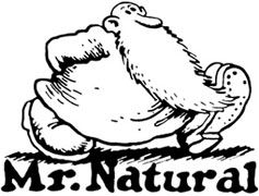 "Mr Natural Crumb comic Vynil Car Sticker Decal 12/"""