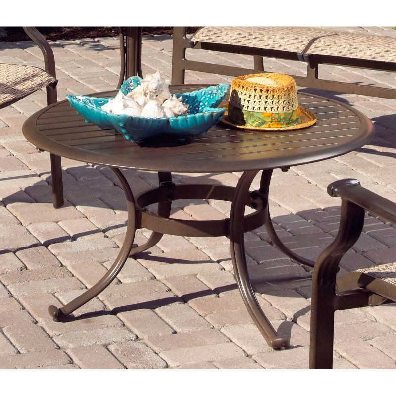 Outdoor Panama Jack Island Breeze Patio Coffee Table With