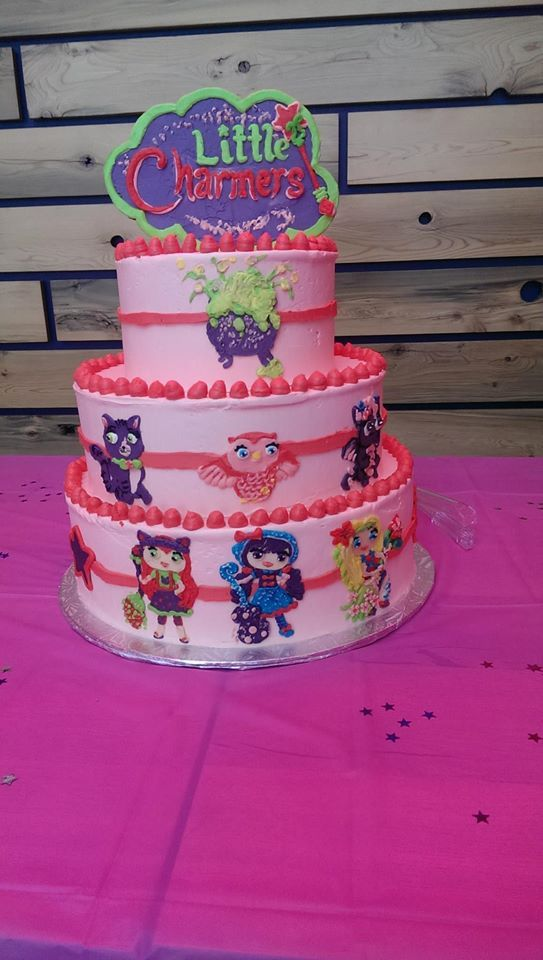 Little Charmers Cake Girls Birthday Party Themes Birthday Party