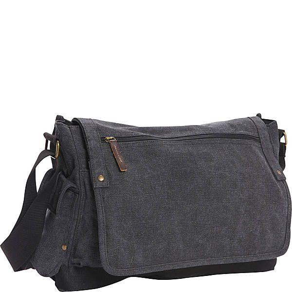 3b870486b Vagabond Traveler Casual Style Canvas Messenger Bag   Bags and ...