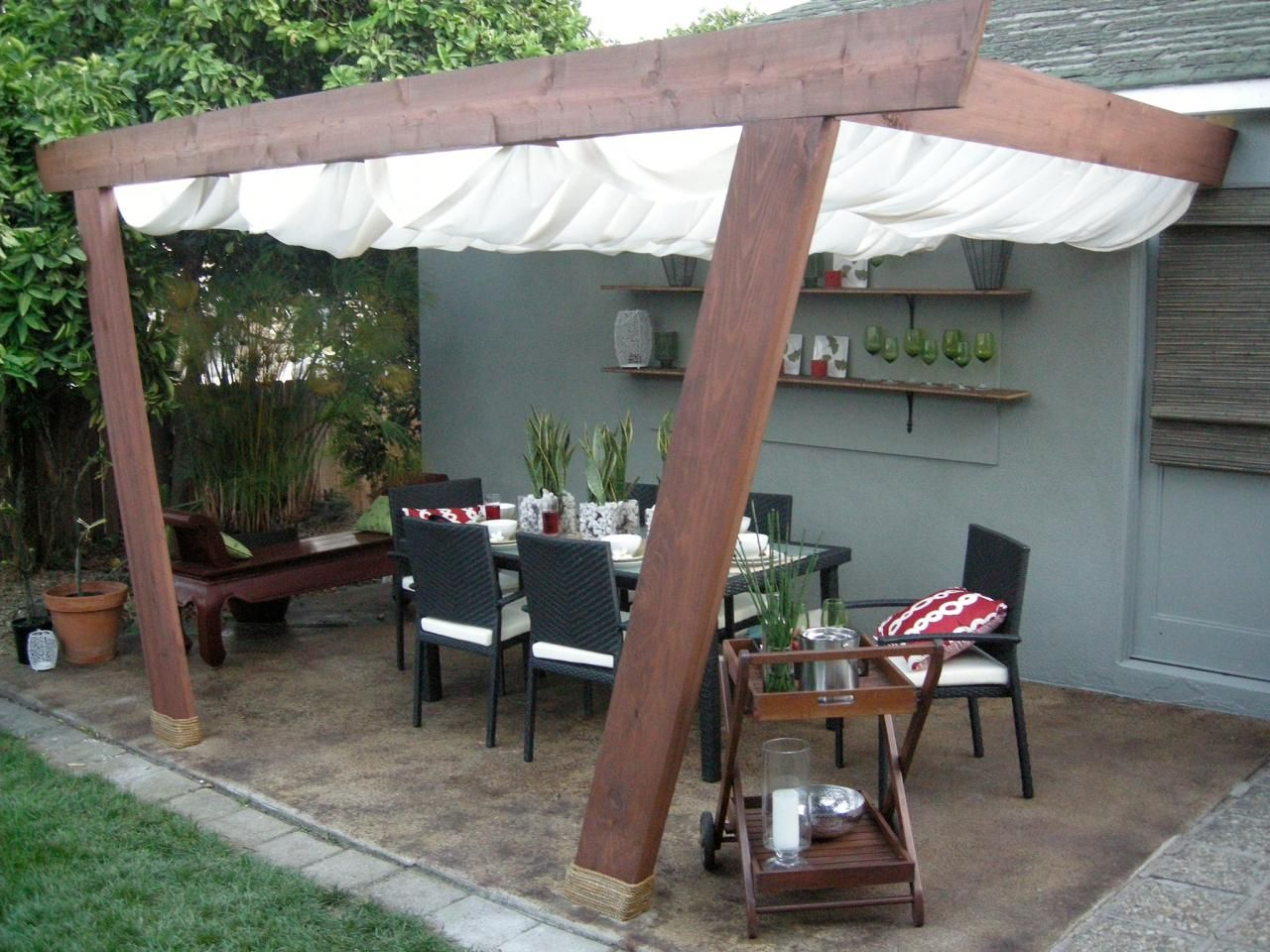 patio covers and canopies | canopy, hgtv and patios