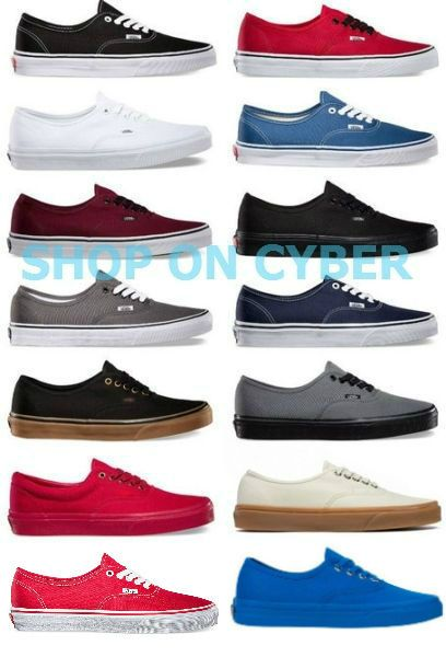 66d0a1423f4795 Athletic 15709  Vans Authentic Classic Shoes Brand New All Colors All Sizes  -  BUY IT NOW ONLY   41.85 on eBay!
