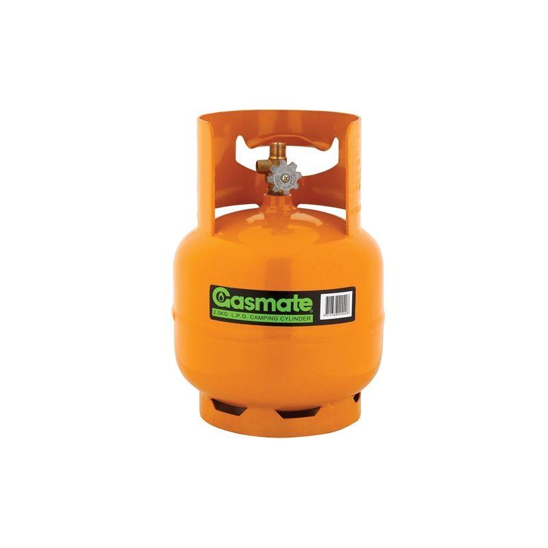 Gasmate 2kg Camping Lpg Gas Cylinder Gas Bbq Accessories Cylinder