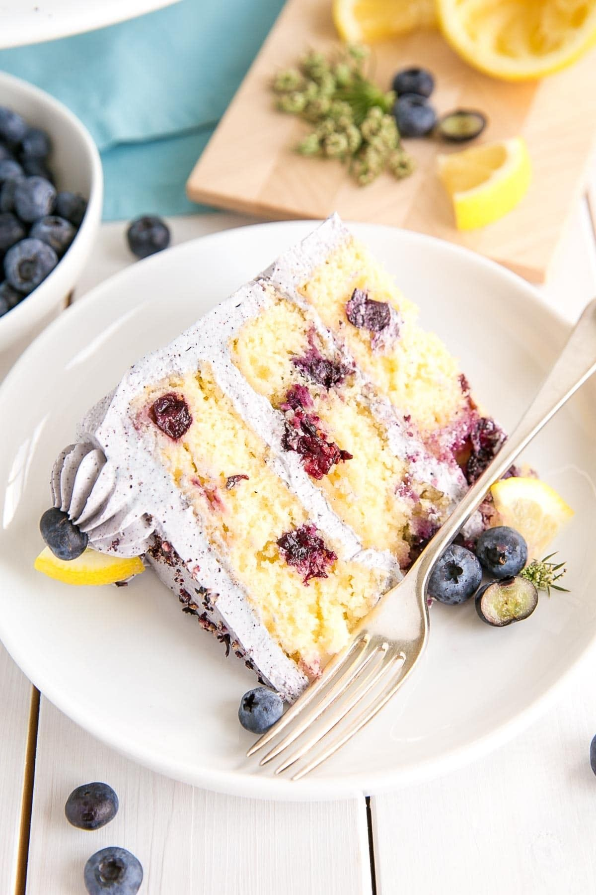 Ahh the pretty things in 2020 blueberry lemon cake