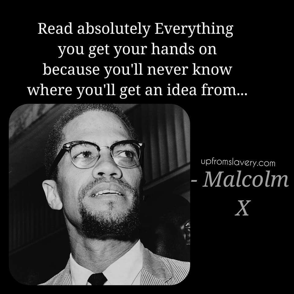Malcolm X Quotes Malcolm X  All About Books  Pinterest  History Black History And
