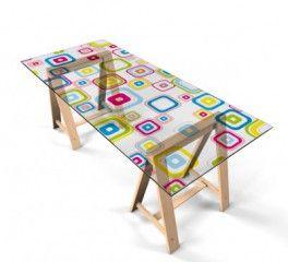 Selbstklebende Tischfolie Badspiegel Tisch Folie