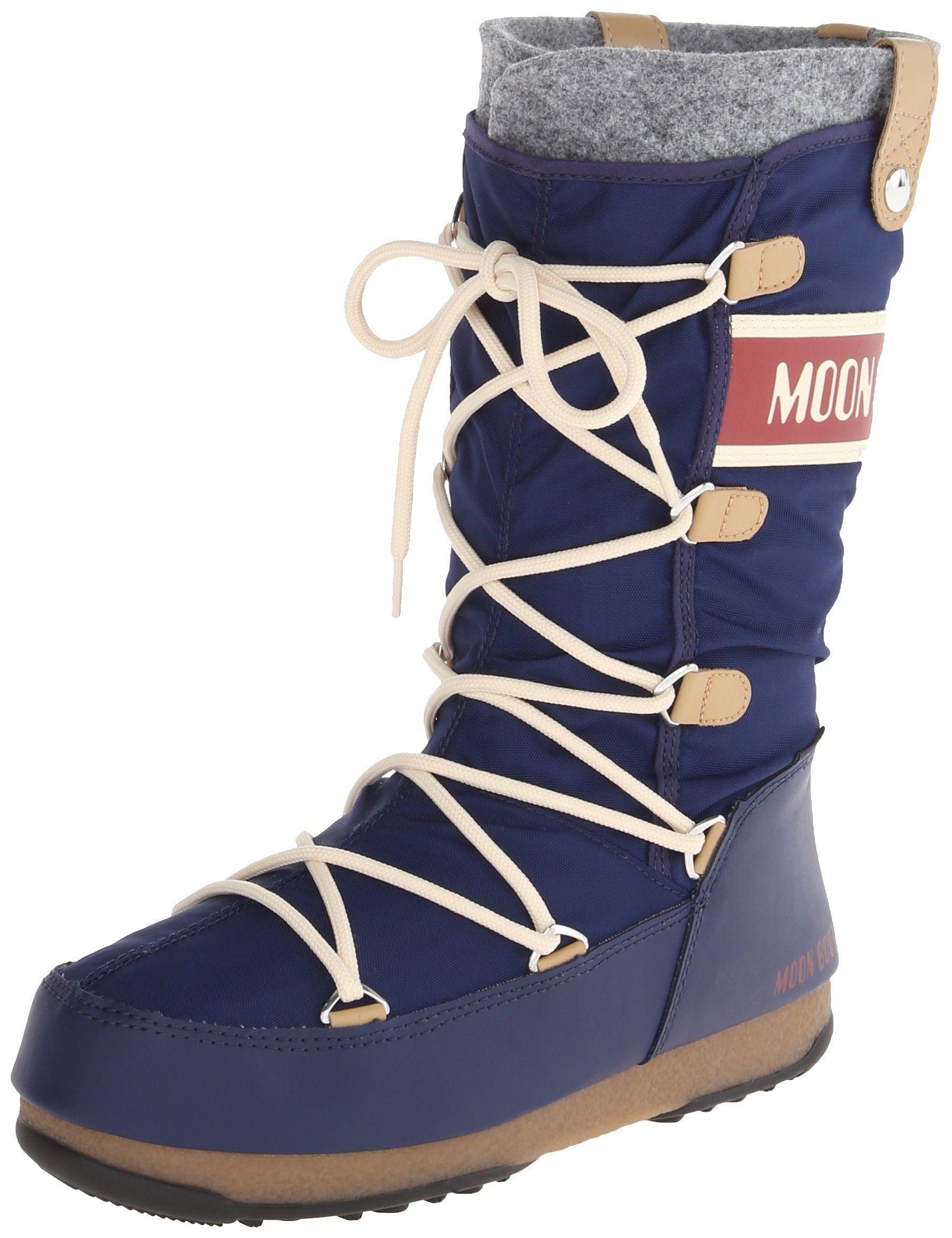 quality design 5a998 45fb5 Tecnica Women's Monaco Felt Moon Winter Boot | Amazon.com ...