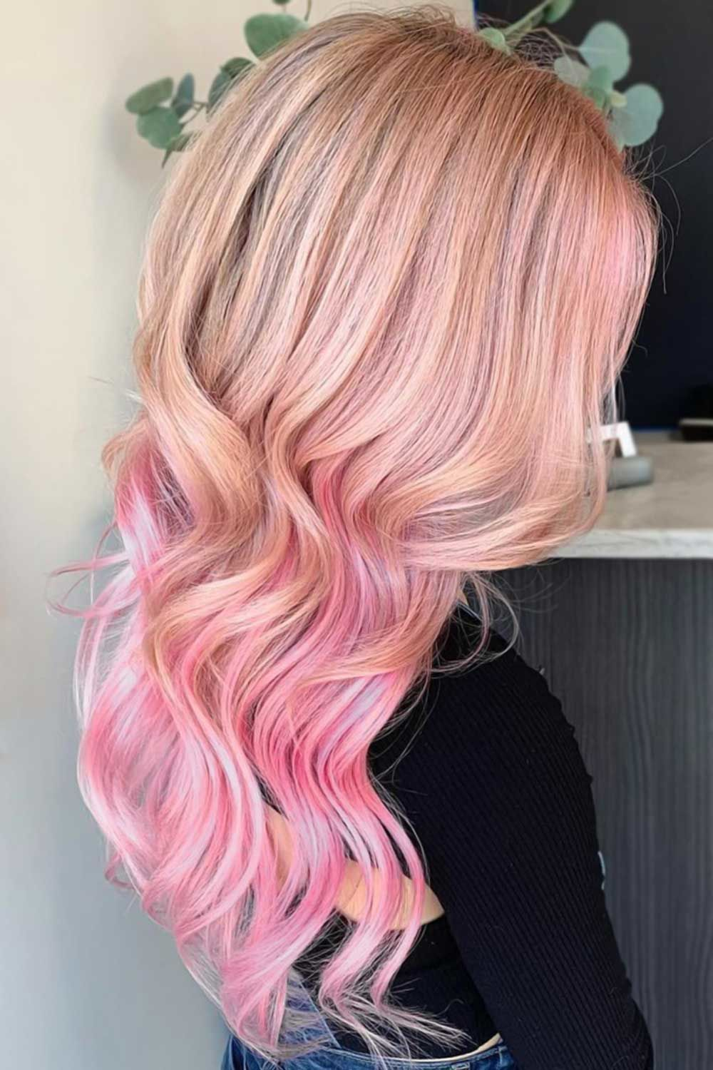 40 Adorable Ideas On How To Pull Off Pastel Pink Hair In 2020 Pastel Pink Hair Pink Blonde Hair Highlights Underneath Hair