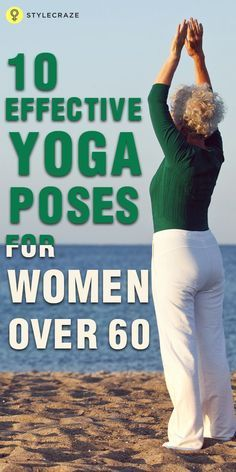 yoga is gaining popularity with older adults especially