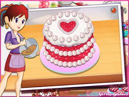 Sara Cooking Games Welcome To Sara Cooking Class Today She Is Teaching How To Make A Sweet And Delicious B Red Velvet Cake Cooking Games Sara S Cooking Class
